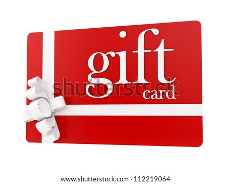 Gift card stock images royalty free images vectors shutterstock render of a gift card isolated on white negle Gallery