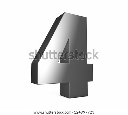 render of a metal four