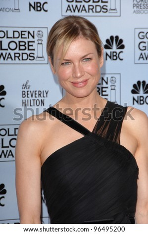 RENEE ZELLWEGER at the 63rd Annual Golden Globe Awards at the Beverly Hilton Hotel. January 16, 2006  Beverly Hills, CA  2006 Paul Smith / Featureflash