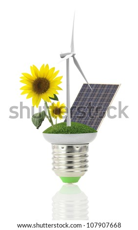 Renewable energy - stock photo