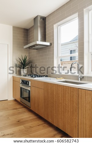 Renovated modern kitchen
