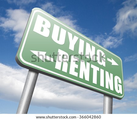 renting mortgage or bank loan for home ownership rent or buy a house a flat building or property