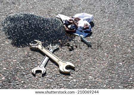 Repair - stock photo