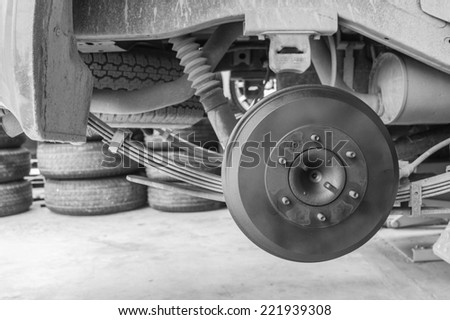 Repairing of car wheel by monochromatic