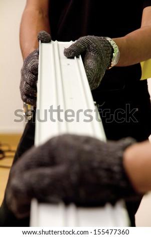 repairman background,home improvement concept - stock photo