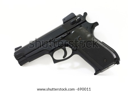 Replica Pistol from the Side