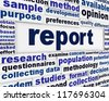 Report message background concept. Official document poster design - stock photo