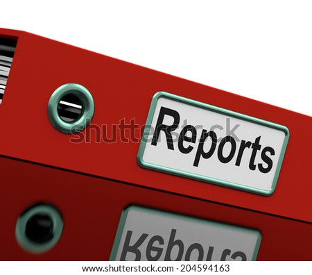 Reports File Meaning Data Records And Files