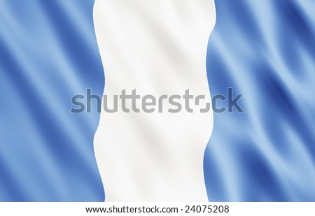 Republic of Guatemala Flag