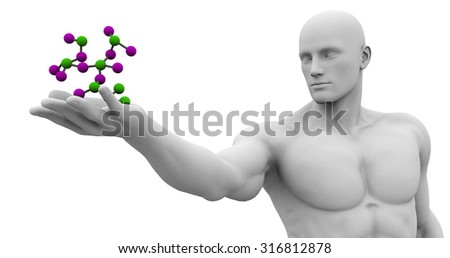 Research and Development in Science and Healthcare - stock photo