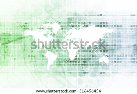 Research Center and Hub for Sciene and Biology - stock photo