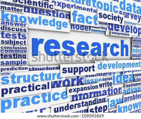 scientific research poster