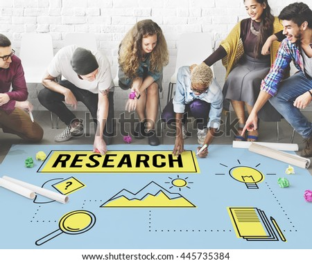Research Searching Search Study Researcher Concept - stock photo