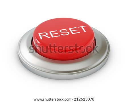 Reset Button - stock photo