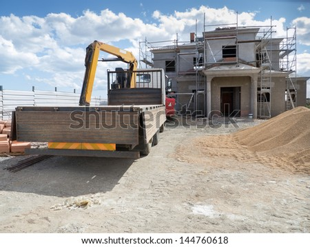 Residential building site