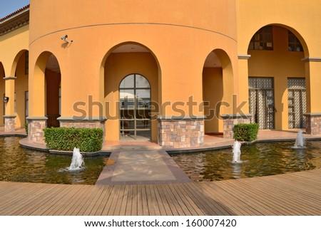 Residential garden   - stock photo