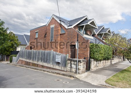 Residential home. - stock photo