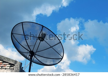 Residential Satellite Dish