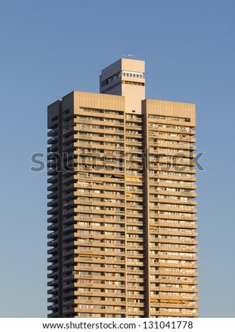 residential skyscraper - stock photo