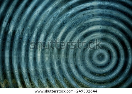 Resonate ,spread, magnetic field, or ripple abstract  - stock photo