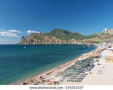 Resort Koktebel in Crimea