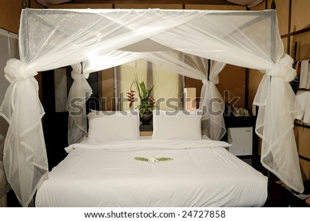 Resort's bedroom