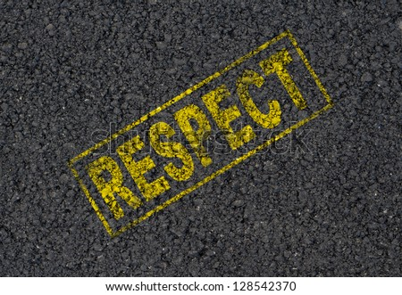 Respect background