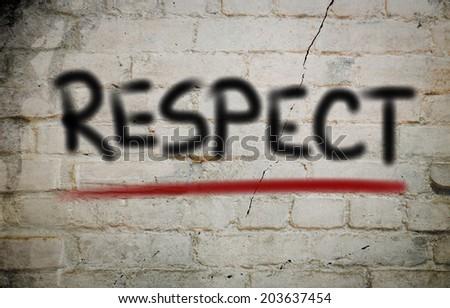 Respect Concept - stock photo