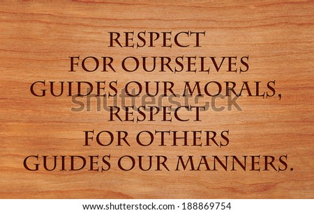 Manners Are Free Quote Our Manners Quote by