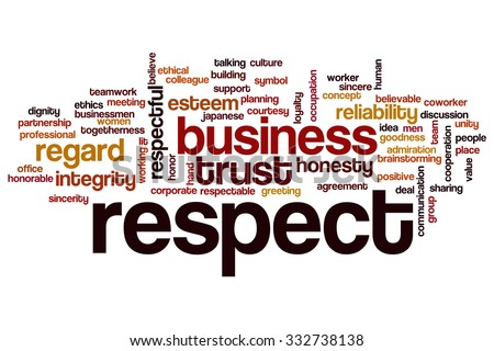 Infographic Ideas infographic definition of respect dictionary : Respect Banco de imágenes. Fotos y vectores libres de derechos ...