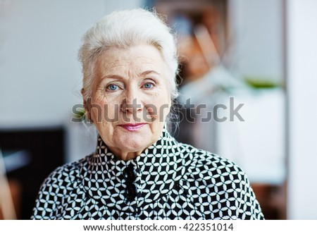 Respectable age - stock photo