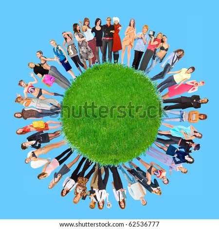 Responsible for the Planet - stock photo