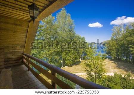Rest on the lake - stock photo