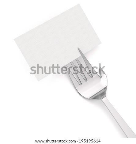 Restaurant Card - stock photo