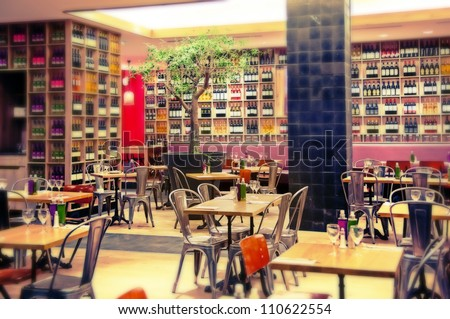 Cafe Interior Stock Images, Royalty-Free Images & Vectors ...