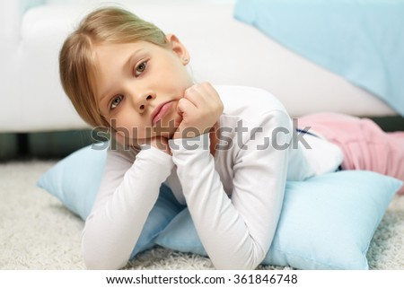 Resting at home - stock photo