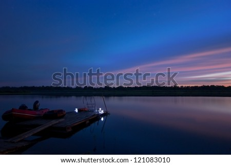 Resting-place from the bustle - stock photo