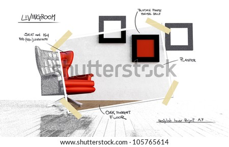 Restyling project - stock photo