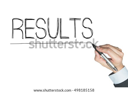 results written by hand, hand writing on transparent board, photo