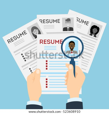 finding resumes
