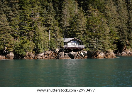 Resurrection Bay Cabin, Alaska