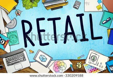 Retail Market Price Consumer Buying Concept - stock photo