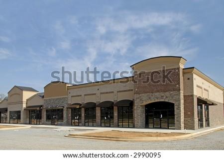 Retail Plaza - stock photo