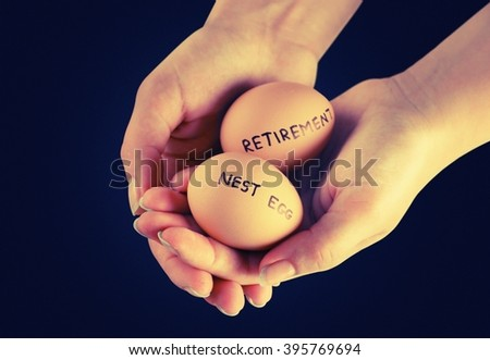 Retirement. - stock photo