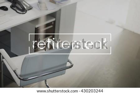 Retirement Pension Retire Planning Savings Wealth Concept - stock photo
