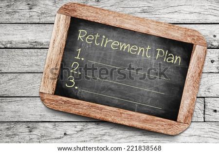 Retirement Plan - stock photo