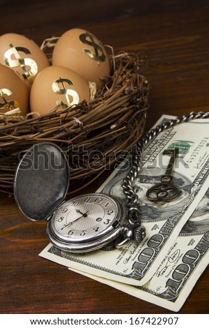 Retirement planning with nest egg