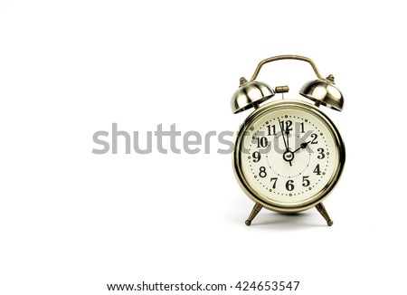 Retro alarm, Either the clock start at 2 am or 2 pm, depends on what it fits for ur concept. free space for your text here