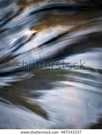 retro background abstract autumn wave on the river