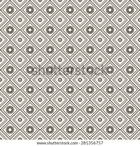 Retro background. Wallpaper pattern. Geometric background. Seamless pattern. Islamic backgrounds. Arabic design